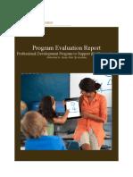 j ball program evaluation report