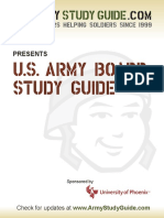 US Army Board Study Guide 2010