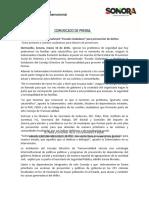 """10-03-16 Presenta Gobernadora Pavlovich """"Escudo Ciudadano"""" para prevención de delitos. C-031660"""
