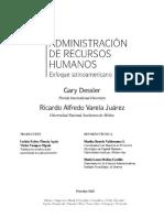 Capitulo 10 Enfoque Latinoamericano Administracin de Recursos Humanos G Dessler y R Varela
