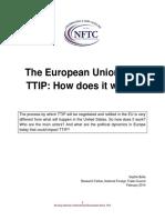 European Union and TTIP