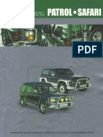 GQ Patrol Service Manual - Y60 | Motor Oil | Manual Transmission