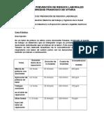CASO PRÁCTICO ASIGNATURA 6 Higiene Industrial y la Exposición Laboral a Agentes Químicos