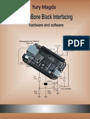 BeagleBone Black Interfacing Hardware and Software - Yury