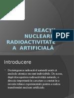 Reactii nucleare Proiect Liceu