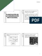 Presentación Clase Planeaciòn de La Comuncaciòn