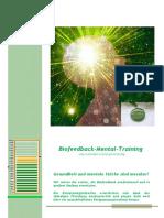 Biofeedback - Mental - Training