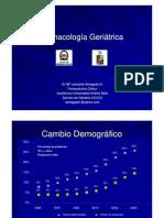 Dr. Leonardo Arriagada - Uso de Fármacos en el Adulto Mayor