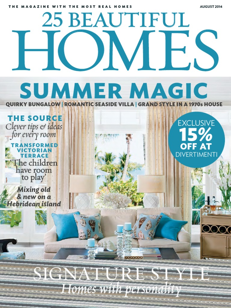 25 beautiful homes august 2014 uk pdf chair kitchen