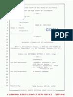 Ferris 12-15-2011 Hearing Transcript Judge Matthew Gary Sacramento Superior Court