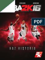 NBA 2K16 PS3 Manual online (español)