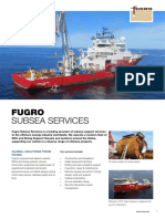 Subsea Services Flyer