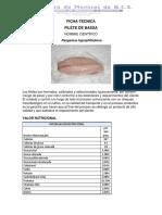 Ficha Tecnica Bassa PDF