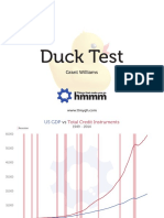 Grant Williams Duck Test