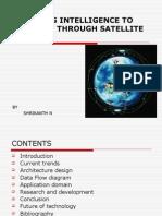 Adding Intelligence to Internet Through Satellite