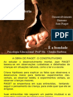 Piaget - Construtivismo