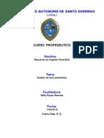 Analisis Periodistico 1 de Marzo