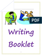 revised writing booklet