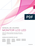 Manual LG monitor