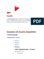 Acute hepatities