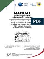 Obiective Si Tehnici Lobby Advocacy in Domeniul Dizabilitati