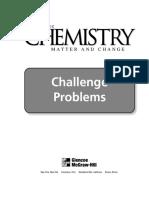 Dingrando G. Glencoe Chemistry_ Matter and Change. Challenge Problems 2002
