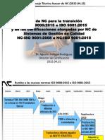 Plan Para Transicion a ISO 9001-2015