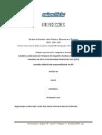 Lopes, f.l.; Queiroz,m.e.representações Discursivas Sobre a União Dos Povos Hispano- Americanos_rev Intersecções v1 2016