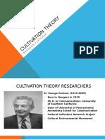 Cultivation Analysis Presentation