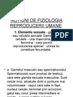 Notiuni de Fiziologia Reproducerii Umane
