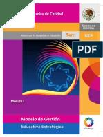 Sesión 3. Modelo de Gestión Educativa Estratégica Módulo 1