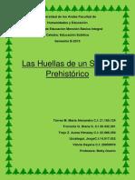 version definitiva grupal Las Huellas de Un Sueño Prehistórico