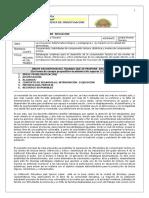 Formato Postulación de Propuesta de Investigación