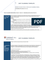 unit plan-classroom management