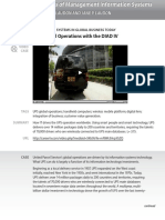 Chapter 1, Case 1 UPS Global Operations With the DIAD IV