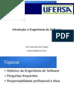 Aula 01 - Introdução a Engenharia de Software