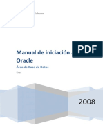 Manual de Iniciacion a Oracle