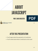 About JavaScript