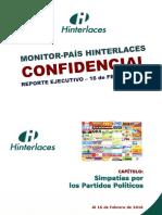Monitor País 05 - Simpatías Por Los Partidos Políticos (16!02!2016)