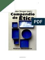Compendio de Etica, Peter Singer