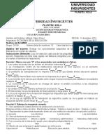Economía de La Educación Formato Tercer Examen Parcial Sep 75106 45106