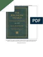 The Jerusalem Talmudk