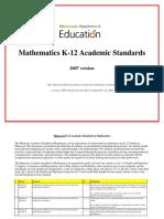 2007 Math Standards Accessible Nov 2013