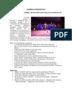 Programa Para Recital de Diciembre 9 2015