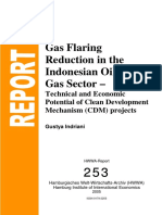 gas flaring reduction in indonesia