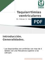 Taquiarrtimias Ventriculares