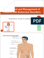 Endocrine Disorders and Management Final