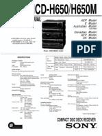 HCD-H650