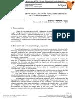 Lopes, f.l. a Face Teórica e a Face Prática Do Ensino Da Gramatica Escolar - Um Estudo Comparativo - Anais Do Xviii Fale Outubro de 2007 - Art. Completo