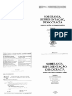 Soberania, Representacao, Democracia (Pietro Costa)